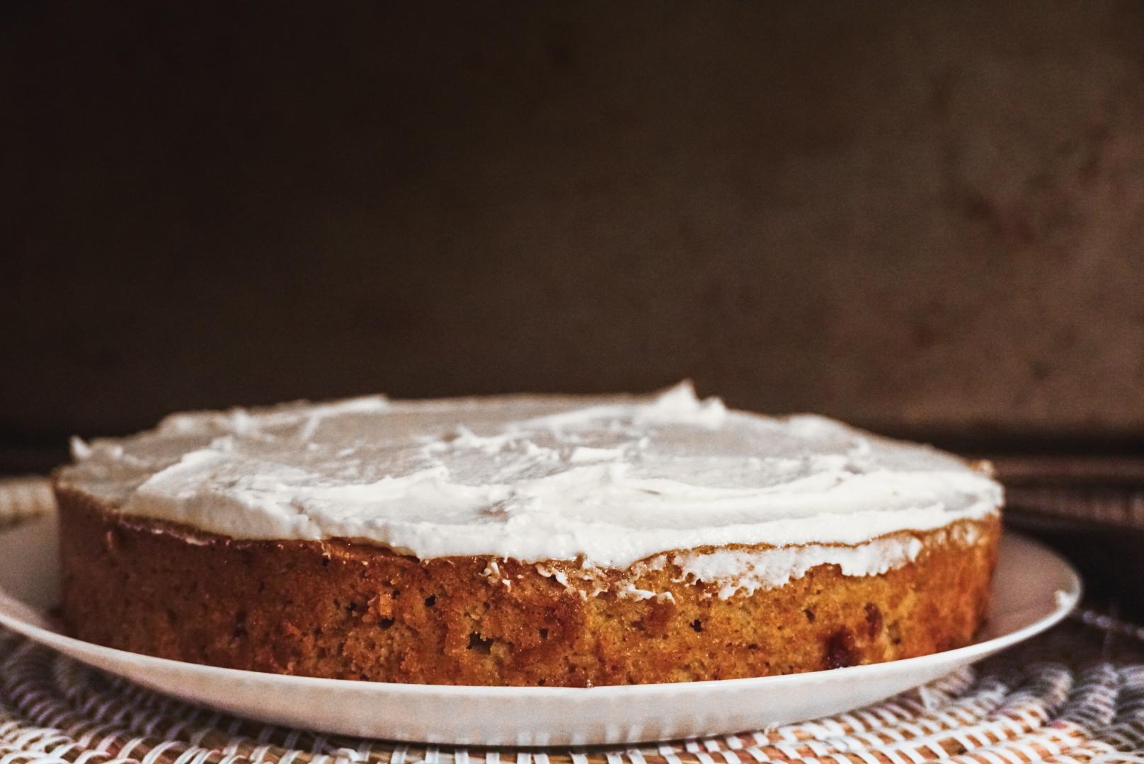 Gâteau au gruau vegan de Mimi
