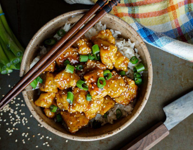 Tofu au sésame et citron