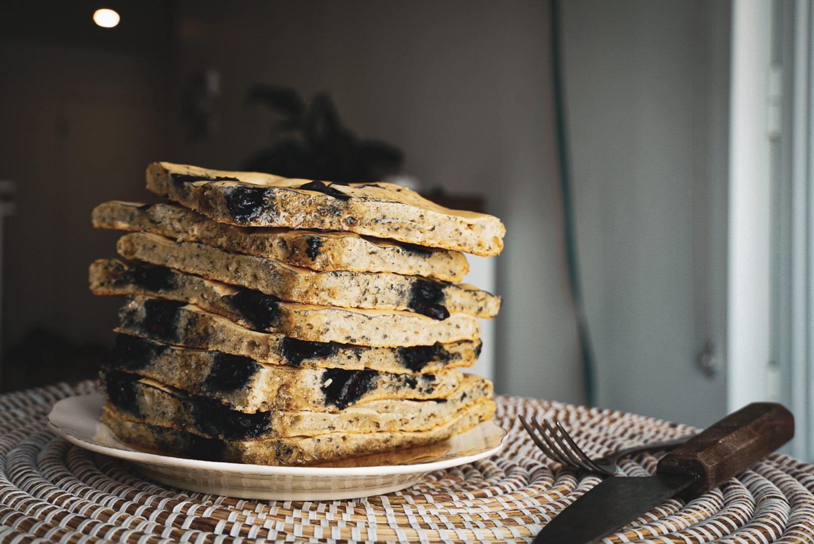 Recette rapide de pancakes au four